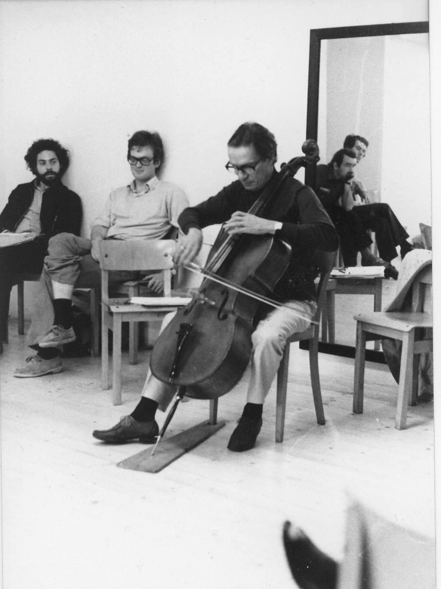 Antonio Janigro e Michael Flaksman